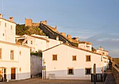 Marvao a famous medieval mountain village and tourist attraction in the Alentejo. Europe, Southern Europe, Portugal, Alentejo.