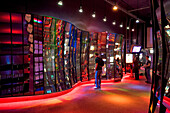 United States, Illinois, Chicago, experimental mirror room at the Museum of Science and Industry