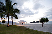 Malaysia, Kedah state, Andaman Sea, Langkawi island, Four Seasons Resort, romantic dinner on Tanjung Rhu beach