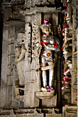 India, Rajasthan State, Ranakpur, jain temple of Chaumukha Mandir built in 1440