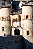France, Alpes de Haute Provence, Entrevaux Medieval city fortified by Vauban
