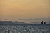 boat on Ko Yao Yai Island in the Andaman Sea, Thailand