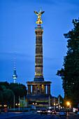 Victory Column in Berlin, Deutschland