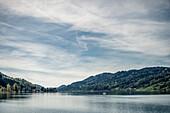 Alpsee, Immenstadt, Allgäu, Bayern, Deutschland, Berge, See, Idylle