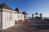 Pier at Sellin, Ruegen, Baltic Sea, Mecklenburg-West Pomerania, Germany