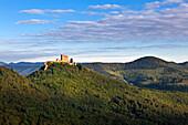 Trifels castle, near Annweiler, Palatinate Forest, Rhineland-Palatinate, Germany
