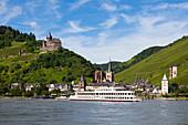 Bacharach, Rhine river, Rhineland-Palatinate, Germany