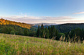 View from the Black Forest Panoramic Road, Black Forest, Baden-Wuerttemberg, Germany