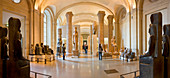 France, Paris, area listed as World Heritage by UNESCO, Louvre Museum, room of the Egyptian Antiquities
