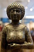 Greece, Athens, National Archaeological Museum, Hall of Egyptian antiquities, Princess Takushit around 670 BC