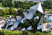 France, Vienne, Poitiers, the Futuroscope, theme park by the architect Denis Laming