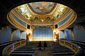 France, Yvelines, Chateau de Versailles, listed as World Heritage by UNESCO, Domaine de Marie Antoinette (Queen Marie Antoinette' domain), the Queen's Theatre
