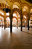 Spain, Andalusia, Cordoba, historic part listed as World Heritage by UNESCO, the cathedral of Cordoba (Mezquita), a former mosque, Ummayad Islamic architecture, built between 785 and 987
