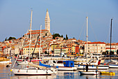 Croatia, Istria, Adriatic Coast, the village of Porec, Euphrasian Basilica, Episcopal Complex of the Euphrasian Basilica in the Historic Centre listed as World Heritage by UNESCO