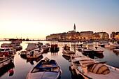 Croatia, Istria, Adriatic coast, Rovinj, the harbour