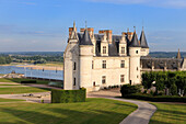 France, Indre et Loire, Amboise, Loire Valley listed as World Heritage by UNESCO, Chateau d'Amboise, the dwelling of the King