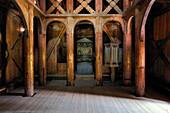 Norway, Sogn Og Fjordane County, Borgund, wooden stave church called stavkirker or stavkirke built in 1131