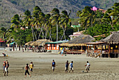 Nicaragua, San Juan del Sur, facing to the Pacific Ocean, it is a former Sandinista headquarters converted into a touristic place and holiday resort