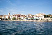Bouzigues, Étang de Thau, Mediterranean Sea, Hérault, Languedoc Roussillon, France