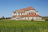 Church of the former Abbey Pontigny , Pontigny , Departement Yonne , Burgundy , France , Europe