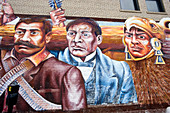 United States, Illinois, Chicago, the Mexican District called Little Village is the second largest latino community