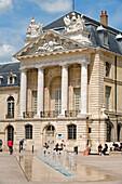 France, Cote d'Or, Dijon, Palais des Ducs and the Place de la Liberation (Liberation Square)