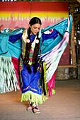 Kanada, Provinz Ontario, Ottawa, Victoria Island, Aboriginal Experiences, indianische Show, traditioneller Tanz