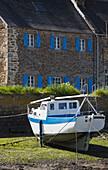 Frankreich, Finistère, in der Nähe von Aber Wrac'h, Paluden Hafen am Aber Wrac'h