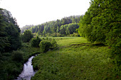 Hafenlohrtal, Spessart Nature Park, Lower Franconia, Bavaria, Germany