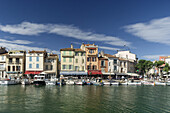 Cassis harbour Cote d Azur France