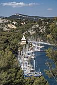 Calanque de Port Miou, Marina, Massif des Calanques, Bouches-du-Rohne, France