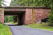 incomplete Autobahn bridge from Third Reich, ruin, historic, German Autobahn, motorway, traffic, infrastructure, Germany