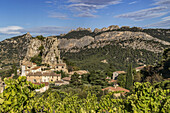 Viniculture, La Roque Alric, Montmirail Lace, Vaucluse, France, Europe