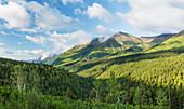 Kenai mountains, Seward Highway, Anchorage, Alaska, United States of America