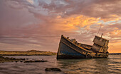 'The ''Elena'' shipwreck outside of Luderitz, Namibia'