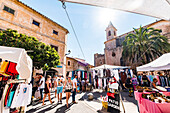 market in Santanyi, Mallorca, Balearic Islands, Spain
