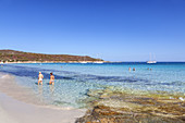Beach Plage de Loto in the Desert of Agriates, near Saint-Florent, Corsica, Southern France, France, Southern Europe