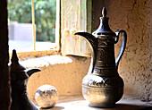 Bait al Safah-Museum in the Souk of Oasis Al Hamra, Akhdar mountains, Oman