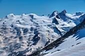 Sella-range, Bernina, Engadine, Canton Grisons, Switzerland