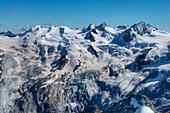 Piz Gluschaint with Sella-range, Bernina, Engadine, Canton Grisons, Switzerland