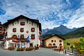 Hotel at Tarasp, Engadine, Canton Grisons, Switzerland