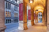 Arcade of the Kontorhauspassage in the old town, Hanseatic City Bremen, Northern Germany, Germany, Europe