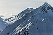 Impressive mountain range, Gudauri, Mtskheta-Mtianeti, Georgia