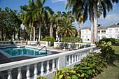 Private pool at Royal Court of Half Moon Resort Rose Hall, near Montego Bay, Saint James, Jamaica