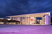 The Municipal Art Museum along the Museum Mile, Bonn, Middle Rhine Valley, North Rhine-Westphalia, Germany, Europe