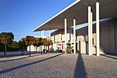 Städtisches Kunstmuseum an der Museumsmeile in Bonn, Mittelrheintal, Nordrhein-Westfalen, Deutschland, Europa