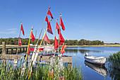 Harbour Darsser Ort, Baltic seaside resort Prerow, Fischland-Darss-Zingst, Baltic coast, Mecklenburg-Western Pomerania, Northern Germany, Germany, Europe