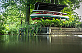 Bootsverleih, Kajaktour, Spreewald, Spree, Urlaub, Sommer, Oberspreewald, Brandenburg, Deutschland