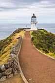 Cape Reinga Lighthouse (Te Rerenga Wairua Lighthouse), Aupouri Peninsula, Northland, North Island, New Zealand, Pacific