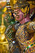 Detail, Grand Palace, Bangkok, Thailand, Südostasien, Asien